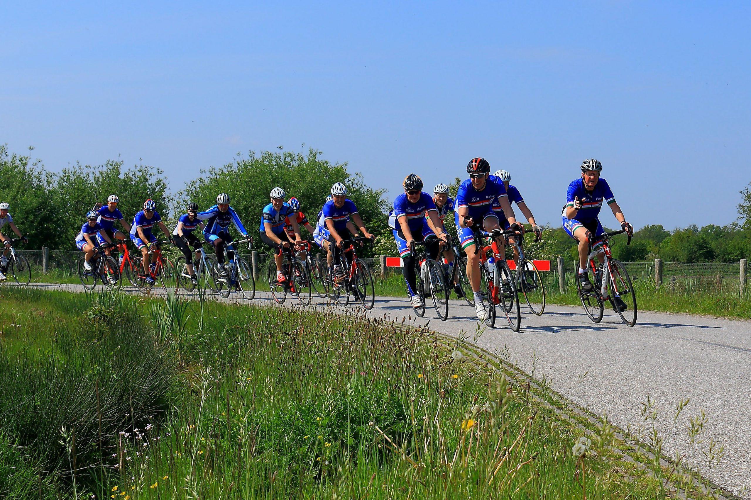 Corona maatregelen voor fietsers